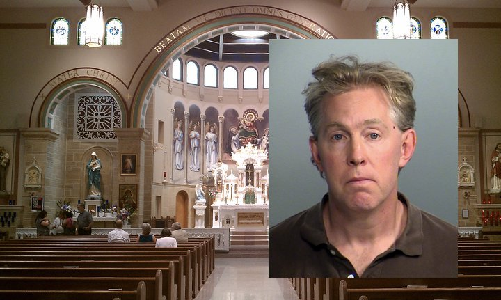 Luke Reese, married priest, convicted of beating his wife